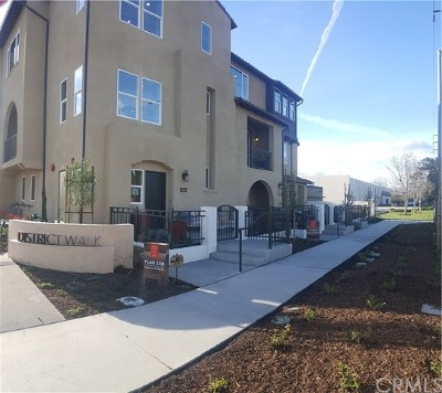 Anaheim Condo/Townhouse For Sale: 633 S District Way