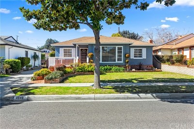 Lakewood Single Family Home Active Under Contract: 4649 Adenmoor Avenue