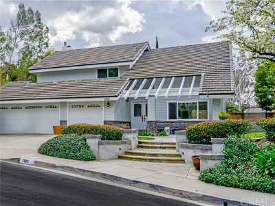 Anaheim Hills Single Family Home For Sale: 1089 S Livingston Circle