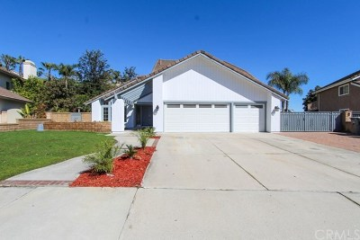 Chino Hills Single Family Home For Sale: 12883 Homeridge Lane