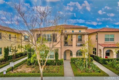 Irvine Condo/Townhouse For Sale: 160 Rose Arch