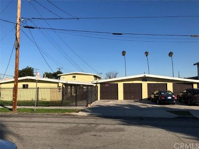 Compton Multi Family Home For Sale: 445 W Almond Street