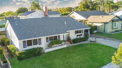 Fullerton Single Family Home For Sale: 1107 N Cornell Avenue