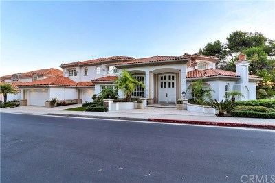 Newport Beach Single Family Home For Sale: 32 Cayon Fairway Drive