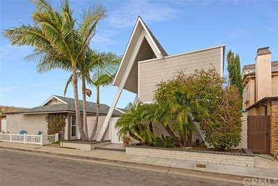 Newport Beach Single Family Home For Sale: 305 Walnut Street