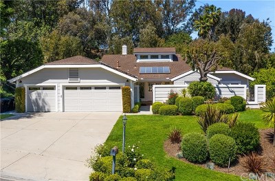 Laguna Hills Single Family Home For Sale: 25541 Rangewood Road