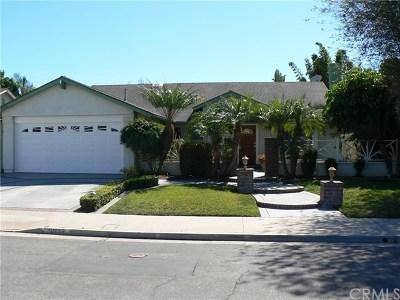 Huntington Beach Single Family Home For Sale: 10052 Dana Drive