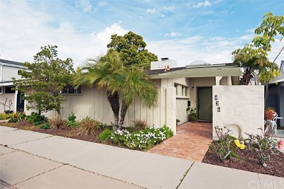 Balboa Peninsula Point (Blpp) Single Family Home For Sale: 436 Seville Avenue