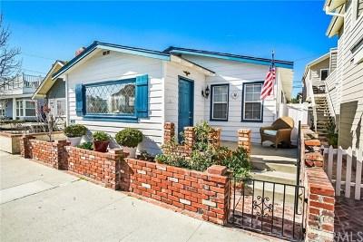 Newport Beach Rental For Rent: 115 Marine Avenue #1