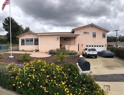 El Cajon Single Family Home For Sale: 1483 Bermuda Lane