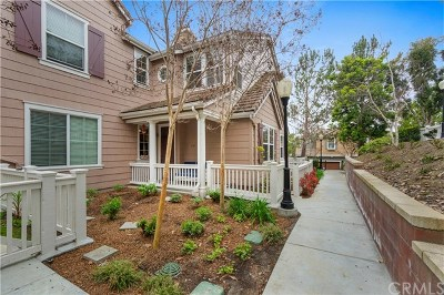 Ladera Ranch Condo/Townhouse For Sale: 151 Sklar Street