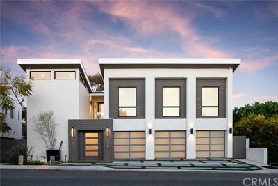 Corona Del Mar Single Family Home For Auction: 552 Seaward Road