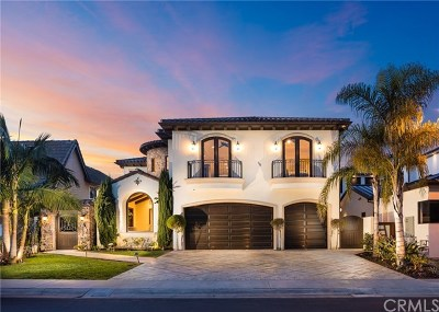 Huntington Beach CA Single Family Home For Sale: $6,295,000