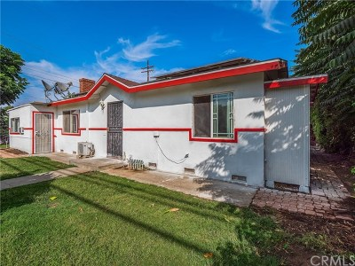El Monte Multi Family Home For Auction: 4454 Cogswell Road