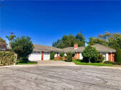 Fountain Valley Single Family Home For Sale: 18520 Bushard Street