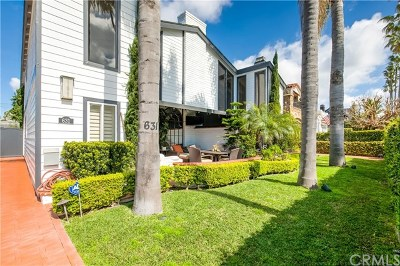 Newport Beach, Irvine, Costa Mesa, Huntington Beach, Corona Del Mar Condo/Townhouse For Sale: 631 Goldenrod Avenue