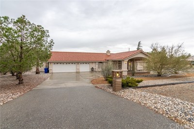 Apple Valley Single Family Home For Sale: 14084 Apple Valley Road