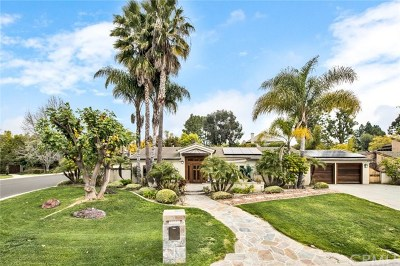 Dana Point, San Clemente, Laguna Niguel, Laguna Beach, Newport Beach, Newport Coast, Lake Forest, Mission Viejo, San Juan Capistrano, Aliso Viejo, Irvine, Tustin, Costa Mesa, Anaheim, Laguna Hills Single Family Home For Sale: 27162 Hidden Trail Road