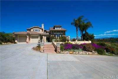 Fallbrook Single Family Home For Sale: 315 Highland Oaks Lane