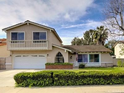 Mission Viejo Single Family Home For Sale: 26602 Avenida Veronica