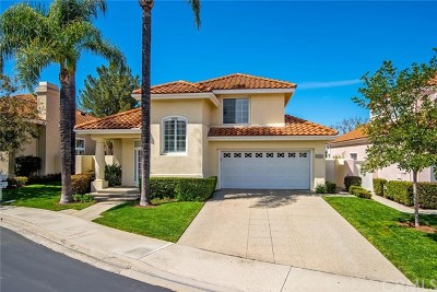 Mission Viejo Single Family Home For Sale: 21505 Bastia