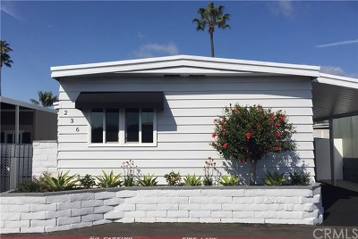 Newport Beach Mobile Home For Sale: 236 Plymouth