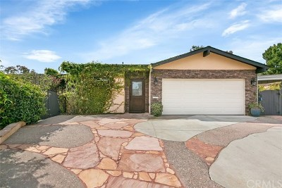Laguna Niguel  Single Family Home For Sale: 23222 Cheswald Drive