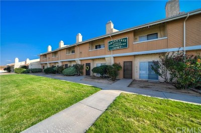Victorville Condo/Townhouse For Sale: 16465 Green Tree Boulevard #8
