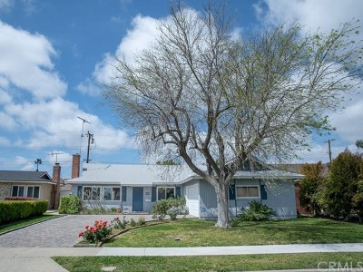 Costa Mesa Single Family Home For Sale: 3077 Coolidge Avenue