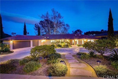 Laguna Niguel Single Family Home For Sale: 30392 Paseo Del Valle