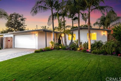 Costa Mesa Single Family Home For Sale: 640 Beach Street