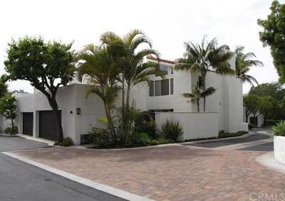 Corona del Mar Condo/Townhouse For Sale: 21 Canyon Crest Drive