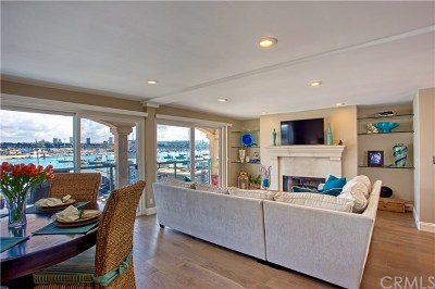 Newport Beach Condo/Townhouse For Sale: 809 E Bay Avenue