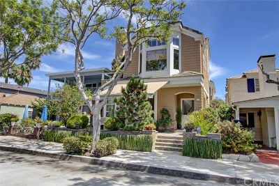 Newport Beach Single Family Home For Sale: 122 Pearl