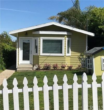 Single Family Home For Sale: 3408 S Kerckhoff Avenue