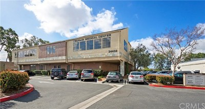 Orange County Commercial For Sale: 24432 Muirlands Boulevard #219