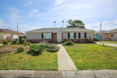 Garden Grove Single Family Home For Sale: 12592 Lucille Avenue
