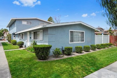 Costa Mesa Multi Family Home For Sale: 3033 Fillmore Way