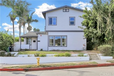 Manhattan Beach Single Family Home For Sale: 1151 N Meadows Avenue