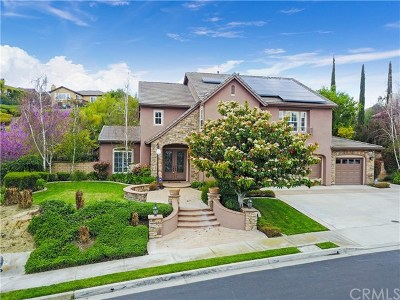 Chino Hills Single Family Home For Sale: 3261 Carriage House Drive