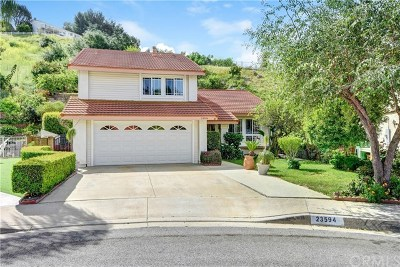Single Family Home For Sale: 23594 Coyote Springs Drive