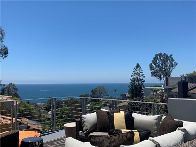 Laguna Beach Single Family Home For Sale: 845 Summit Drive