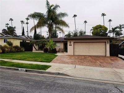 Huntington Beach Single Family Home For Sale: 7671 Alberta Drive