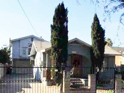 Huntington Park CA Single Family Home Active Under Contract: $670,000