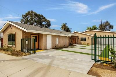 Long Beach Single Family Home For Sale: 4709 Long Beach Boulevard
