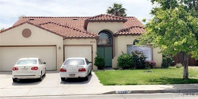 Moreno Valley Single Family Home For Sale: 25591 Sierra Bravo Court