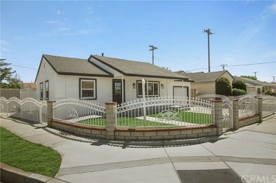 Baldwin Park Single Family Home Active Under Contract: 3856 Willow Avenue