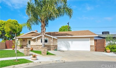 Costa Mesa Single Family Home For Sale: 2507 Bowdoin Place