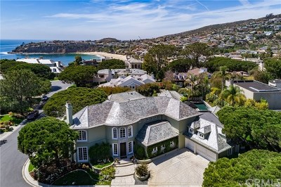 Laguna Beach Single Family Home For Sale: 40 Smithcliffs Road