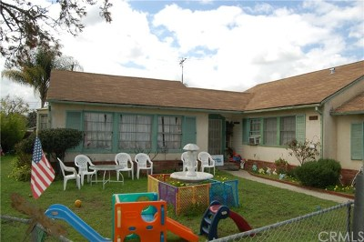 Whittier Multi Family Home For Sale: 7017 Norwalk Boulevard